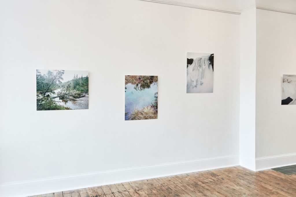 Luke Brown's Wooded Heights images on display at ONCA