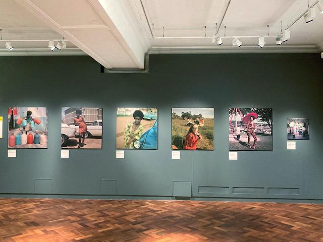 Install shot: James Barnor: Ghanaian Modernist exhibition, Bristol Photo Festival 2021