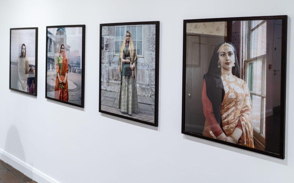 Self portraits by Maryam Wahid