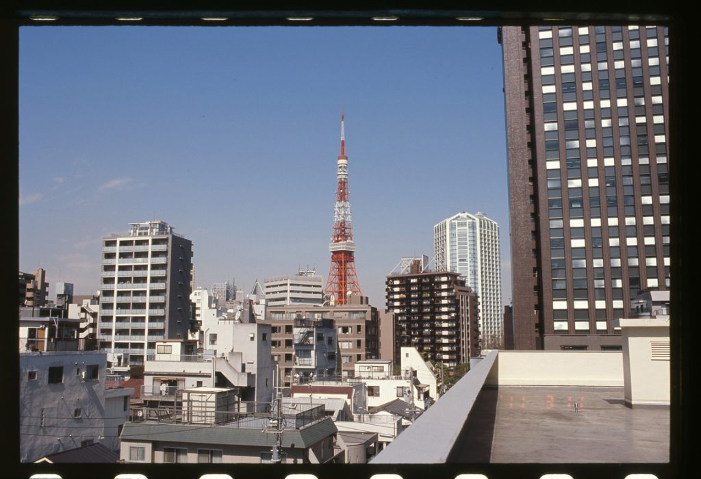 A photo of Tokyo Tower taken in 2011. Part of the Tokyo: Art & Photography exhibition